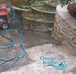 stone patio cleaning brixton